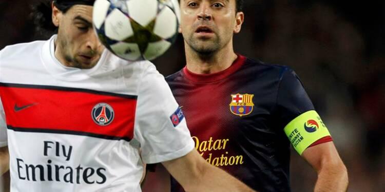 Ligue des champions: le PSG éliminé par le Barça après un nul 1-1