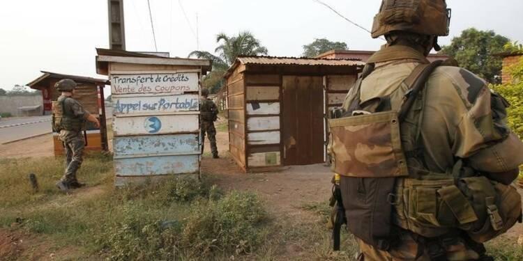 Deux soldats français blessés à Bangui