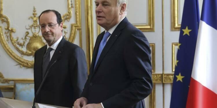 Hausse d'un point de la cote de François Hollande, selon TNS