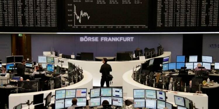 Les Bourses européennes dans le vert à la mi-journée