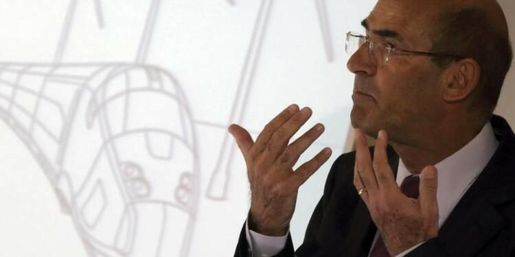 Le PDG d'Alstom voit d'un bon oeil une montée de l'Etat au capital de son groupe