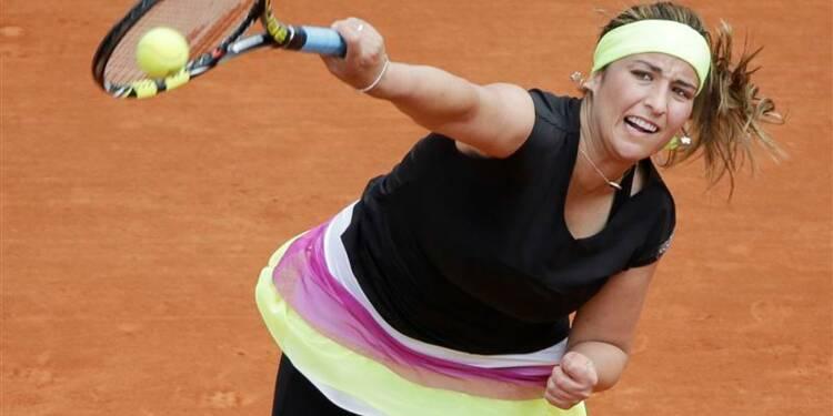 Roland-Garros: Aravane Rezaï sortie d'entrée par Petra Kvitova