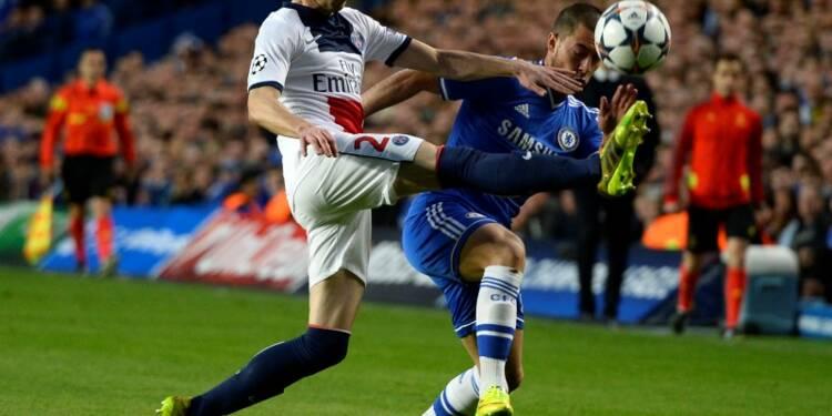 Ligue des champions: le PSG bat Chelsea 3-1 au Parc des Princes
