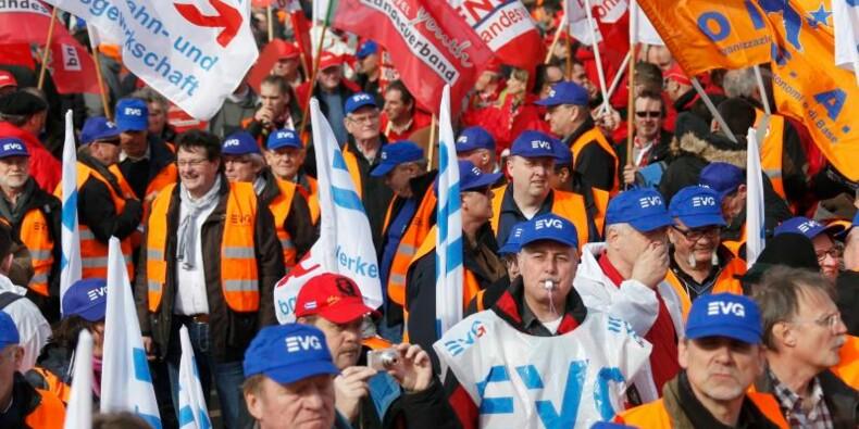 Les cheminots manifestent contre la libéralisation dans l'UE