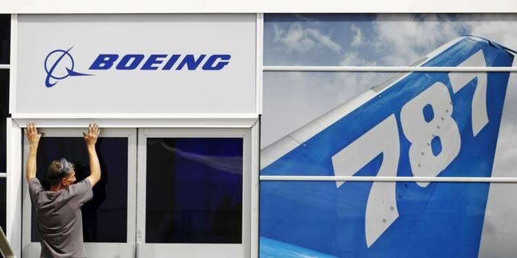 Recul du bénéfice de Boeing, pas d'impact notable du 787 en 2013