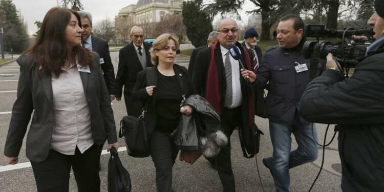 Reprise des pourparlers syro-syriens à Genève