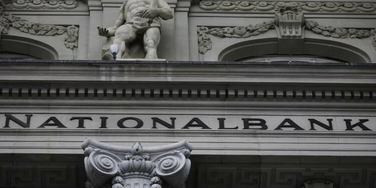 La chute du cours de l'or plombe les comptes de la banque centrale suisse