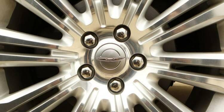 Hausse de 68% du bénéfice de Chrysler au 4e trimestre