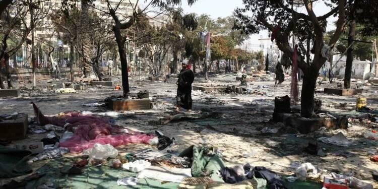 La France appelle à éviter une guerre civile en Egypte