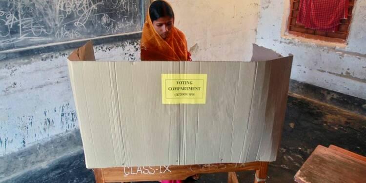 Début des élections législatives en Inde