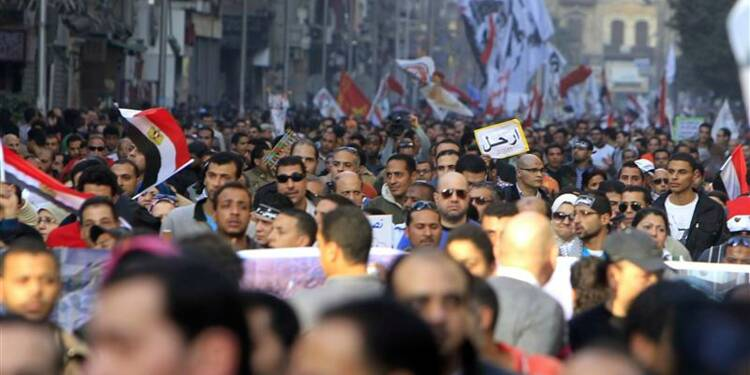 Heurts en Egypte pour le 2e anniversaire de la révolution