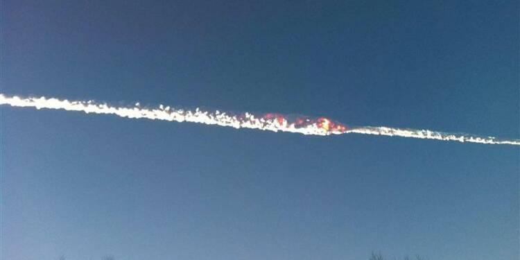 Pluie de météorites en Russie, au moins 400 blessés
