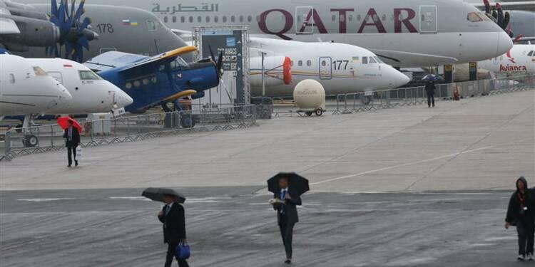 Au Bourget, Airbus et Boeing se mesurent sur le long-courrier