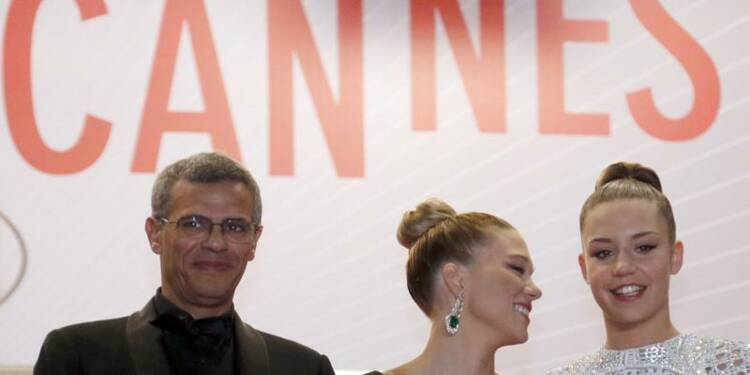 """A Cannes, la presse française plébiscite """"La vie d'Adèle"""""""