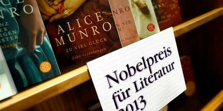 Le Nobel de littérature pour la Canadienne Alice Munro