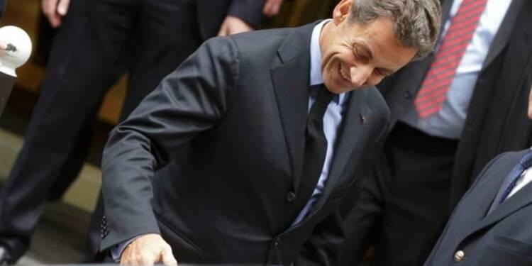 """Sarkozy vante la """"Nouvelle société"""" contre les """"archaïsmes"""""""