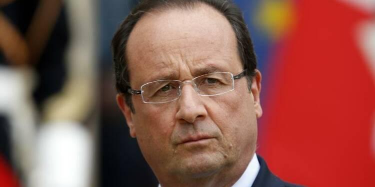Hollande félicite Merkel pour son succès aux élections