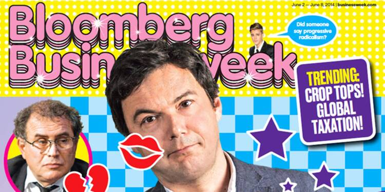 "La ""Pikettymania"" raillée par l'hebdomadaire Bloomberg-Businessweek"