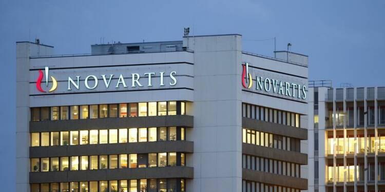 Novartis abaisse ses prévisions de ventes pour 2014