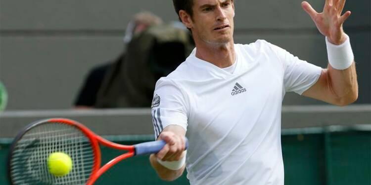 Wimbledon: Andy Murray au troisième tour d'un pied ferme
