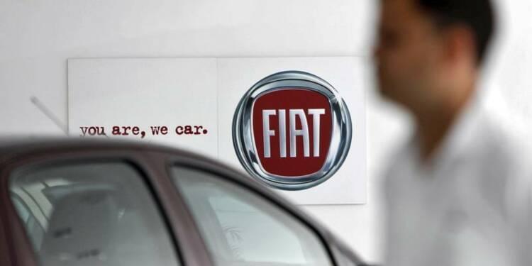 Fiat confirme ses objectifs de résultats 2013
