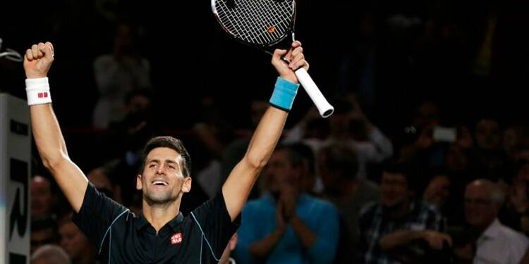 Tennis: Djokovic gagne à Bercy son troisième titre de rang