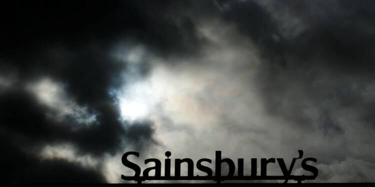 Baisse des ventes trimestrielles de Sainsbury