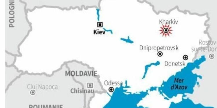 Heurts meurtriers à Kharkiv, dans l'est de l'Ukraine