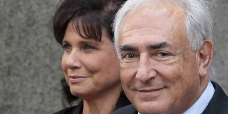 Dominique Strauss-Kahn et Anne Sinclair s'indignent d'un livre