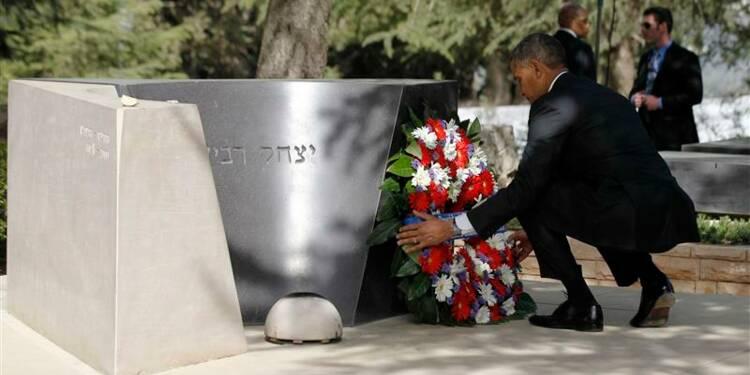 Obama s'est recueilli à Jérusalem au dernier jour de sa visite