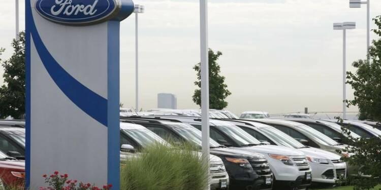 Les ventes de Ford en Europe ont progressé de 6,6% en avril