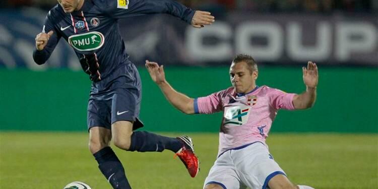 Coupe de France: Evian sort le PSG