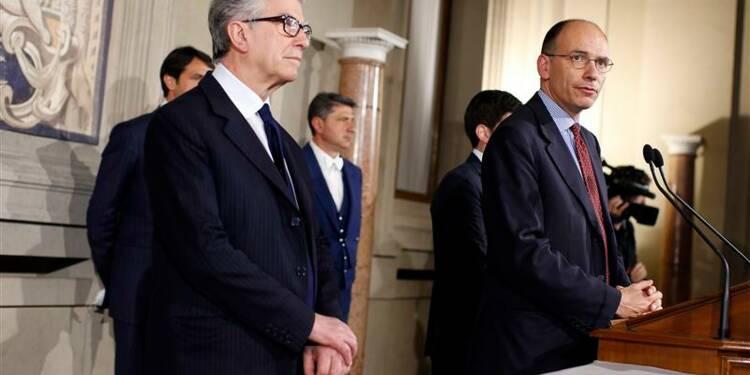 Enrico Letta nommé président du Conseil italien