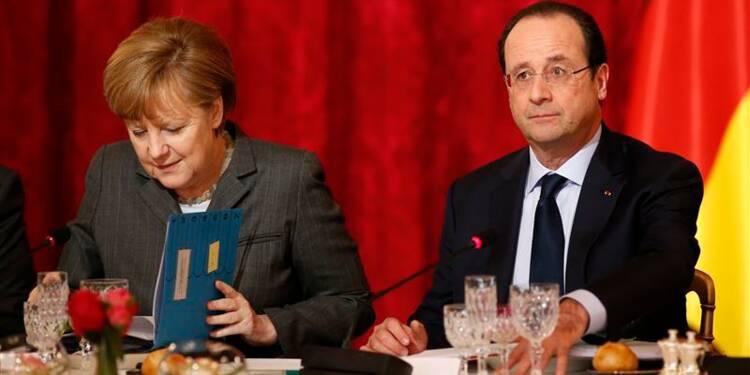 Paris et Berlin pour des sanctions contre l'Ukraine
