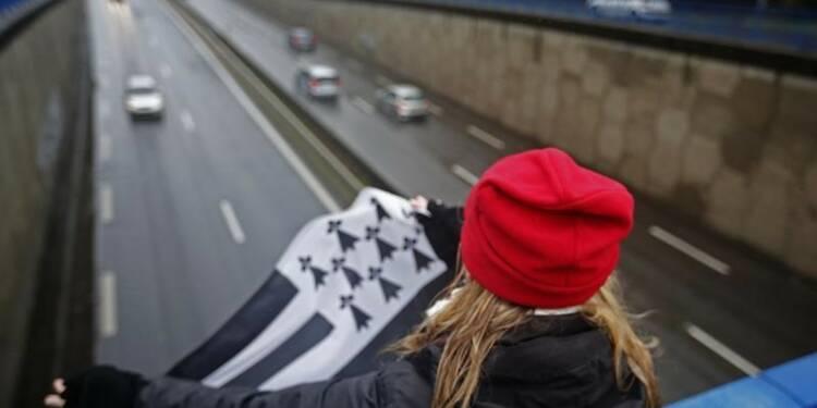 """Rassemblements de """"bonnets rouges"""" en Bretagne"""