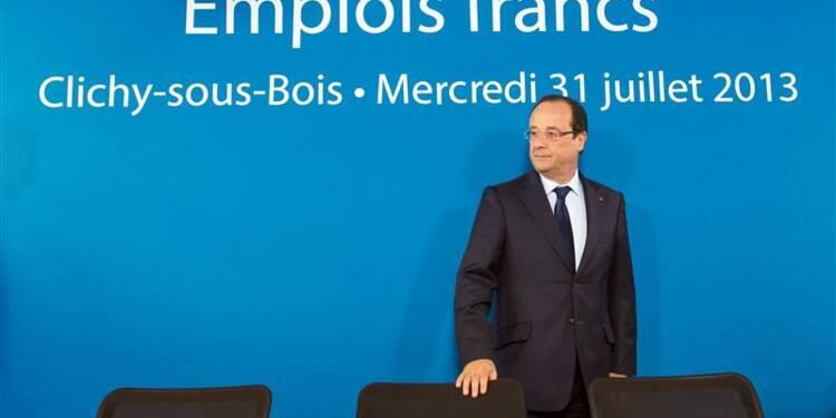 François Hollande veut soutenir les quartiers le plus sensibles