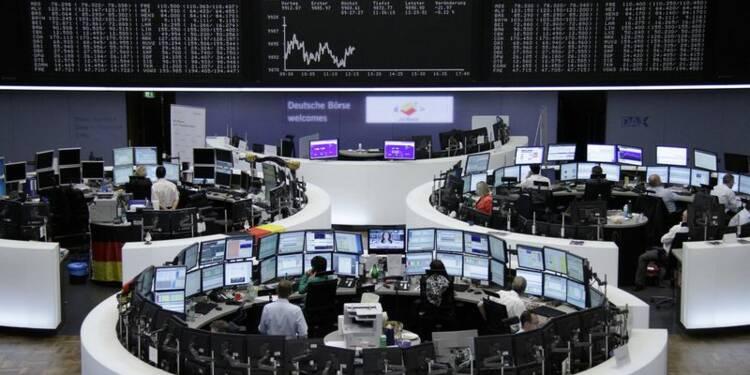 Les Bourses européennes en baisse à la mi-journée, l'Irak inquiète