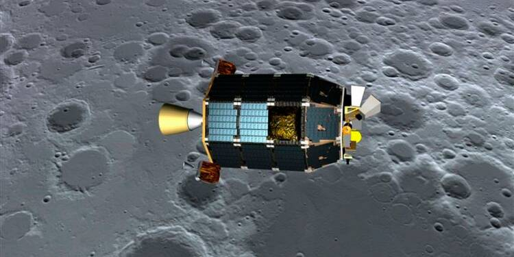 La Nasa va lancer vendredi une sonde pour observer la Lune
