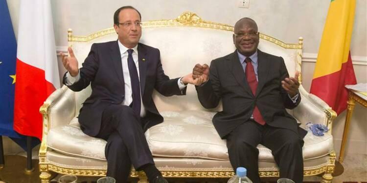 La France promet d'aider le Mali à se reconstruire