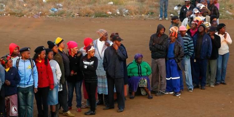 Législatives en Afrique du Sud, l'ANC encore grand favori