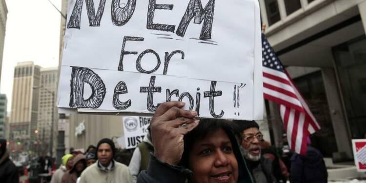 La ville de Detroit renonce à rembourser une dette de 34 millions