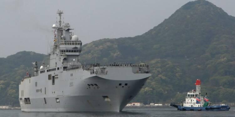 Report d'un exercice de débarquement français dans le Pacifique