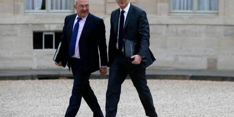 Sapin n'évoquera pas à Berlin un nouveau délai pour le déficit