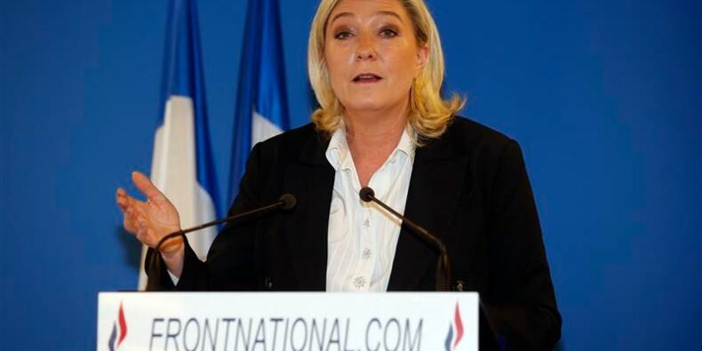 Marine Le Pen affiche ses ambitions pour 2014