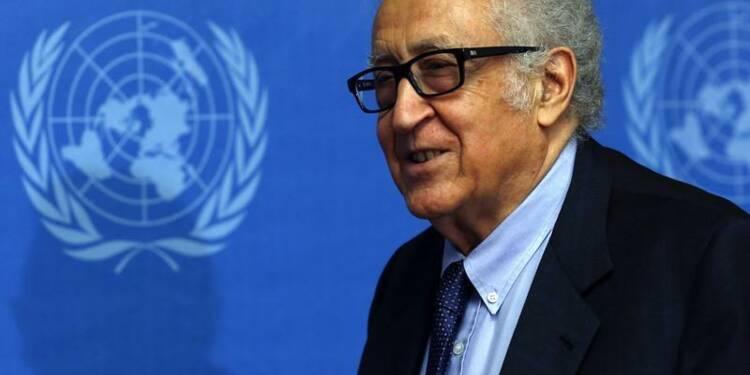 """Brahimi expose les prochaines étapes de """"Genève II"""""""