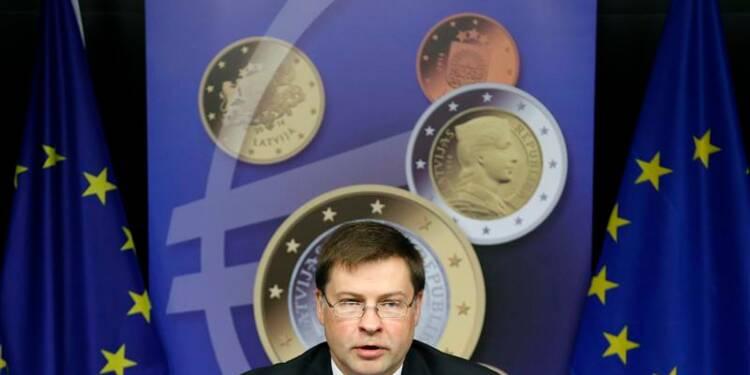 Feu vert des ministres à l'adoption de l'euro par la Lettonie