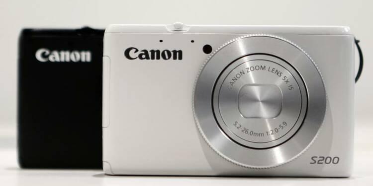 Le bénéfice 2013 de Canon en hausse mais inférieur aux attentes