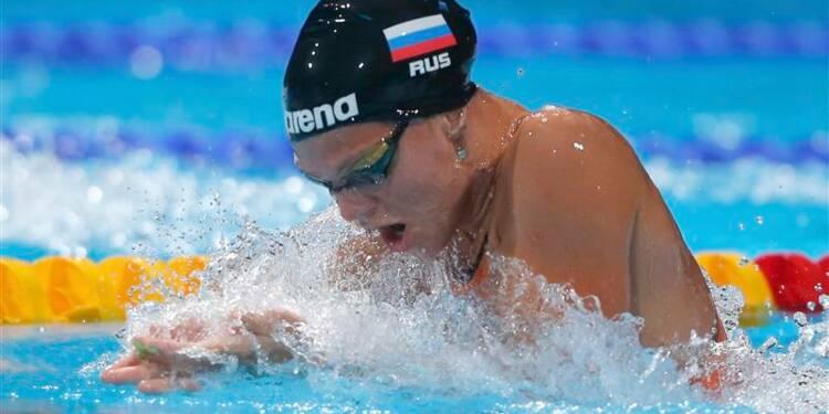 Natation: la Russe Efimova bat le record du monde du 50m brasse