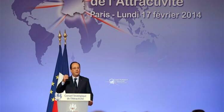 Hollande promet visibilité et simplicité aux patrons étrangers