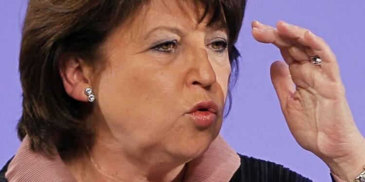 Martine Aubry se dit sereine sur l'issue de la procédure amiante